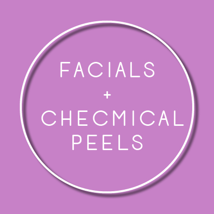 treat your skin to a rubber mask facial or advanced chemical peel.
