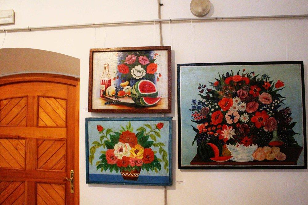 Lots of Ukrainian artwork features watermelon.