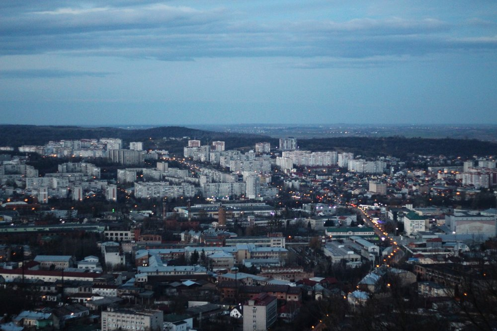 You can get a birds-eye view of Lviv from High Castle, but don't expect to see much of a castle  —  the remaining ruins are minimal.