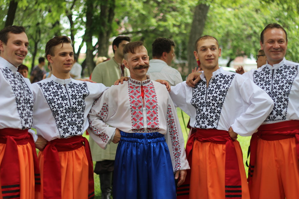 The men of the Poltava Ensemble.