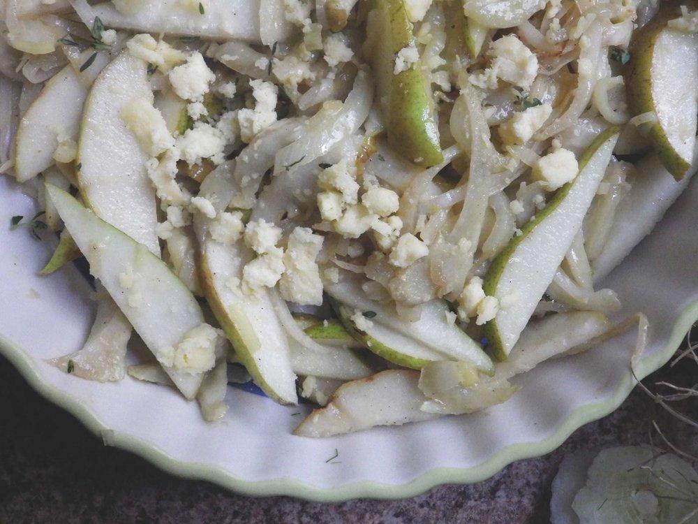 fennel&pear