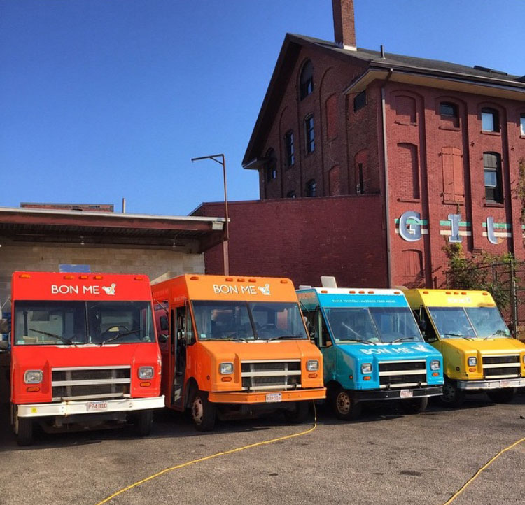 Central Flea Food Truck Profile Bon Me New England Open Markets