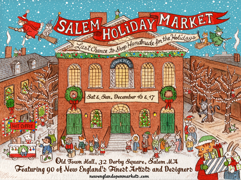Salem Holiday Market - Dec 16 & 17 — NEW ENGLAND OPEN MARKETS