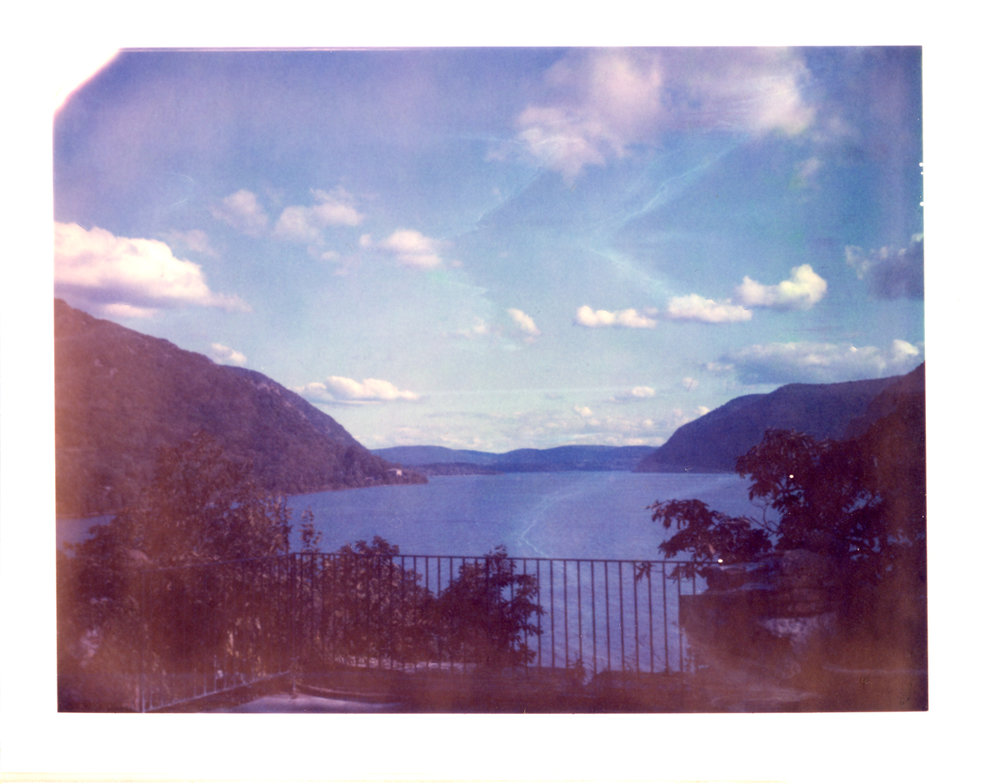 I had to get a daylight shot here and there, or else coming home with nothing would have been a little too much to bare. -Polaroid 669 shot on a Polaroid 250