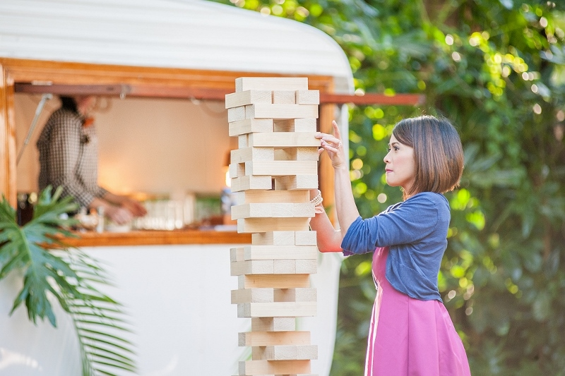 Lawn Games - Giant Jenga, Croquet,Bocce + Quoits$50.00+GST Each | $150.00+GST Package
