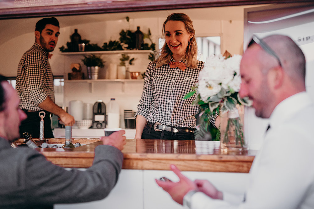 Gathering Events-Caravan Bar-Pop Up Bar-Mobile Bartenders-Byron Bay Wedding