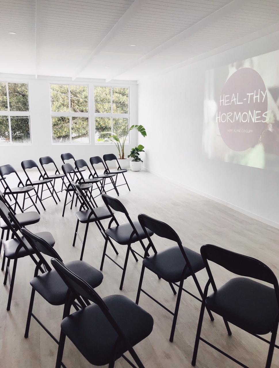 Studio-upstairs-workshop-BYO-Venue-gold-coast-Gathering-Events