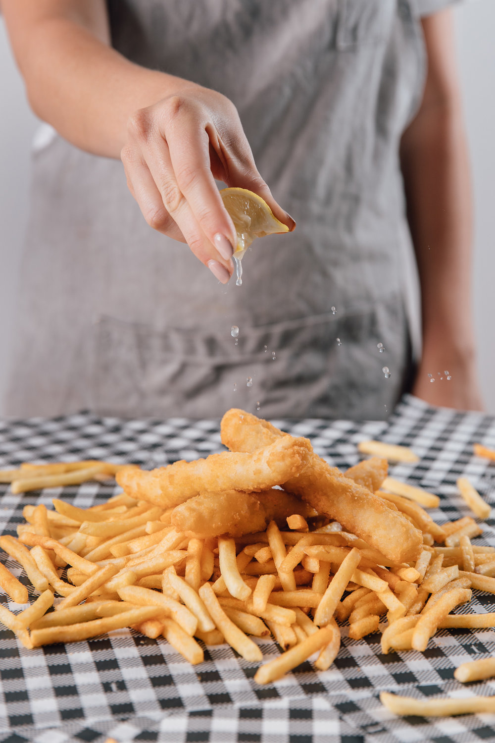 FOOD CART CATERING - FISH AND CHIPS