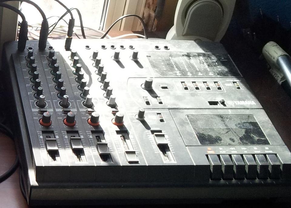 4-track tape recorder