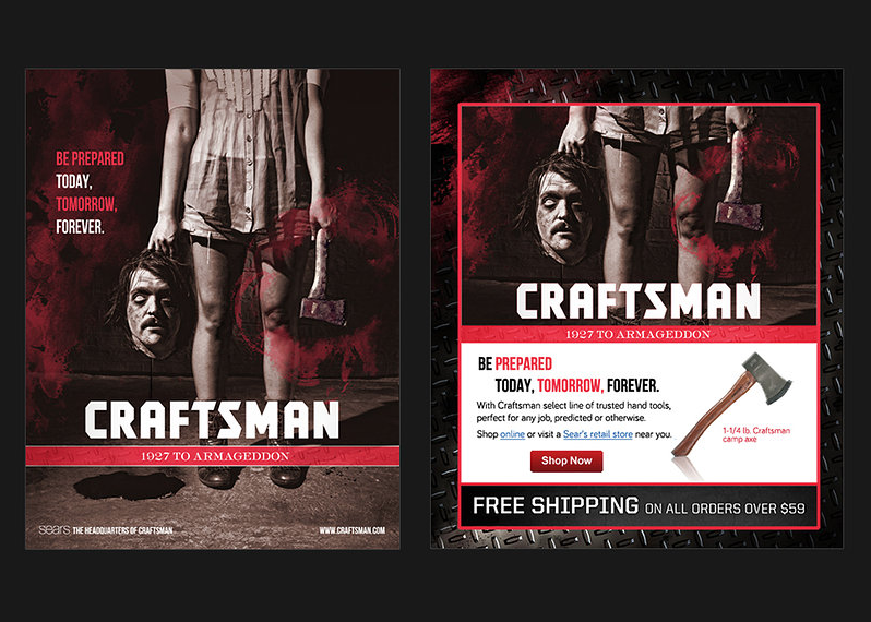 Craftsman Digital Ad Campaign