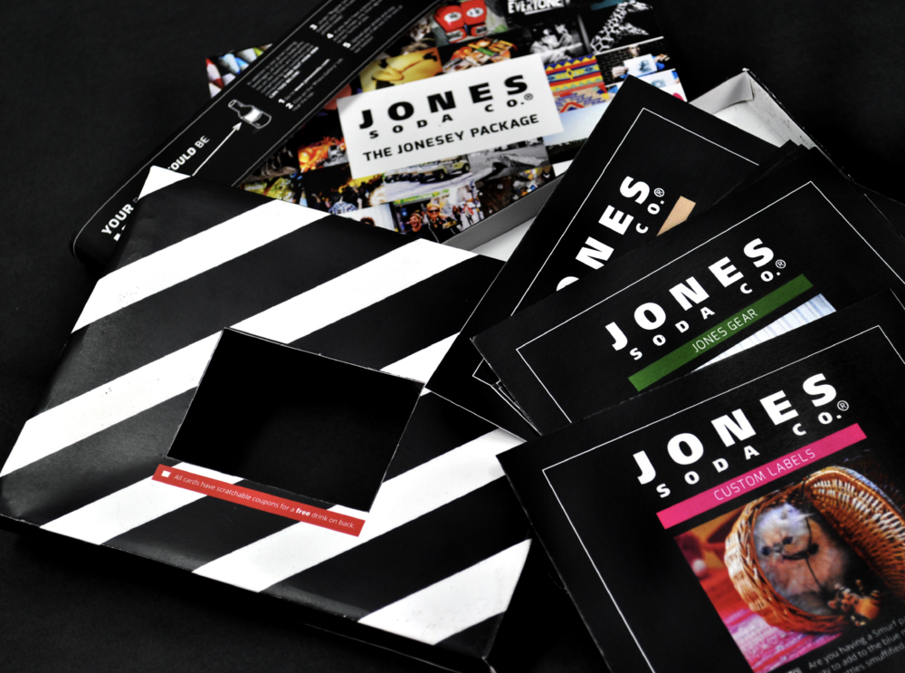 Jones Soda Direct Mail Promotion
