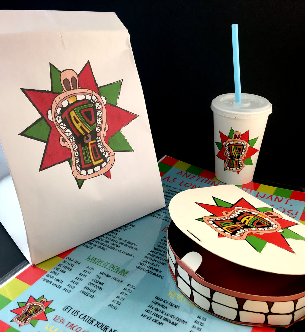 Taco Loco Packaging