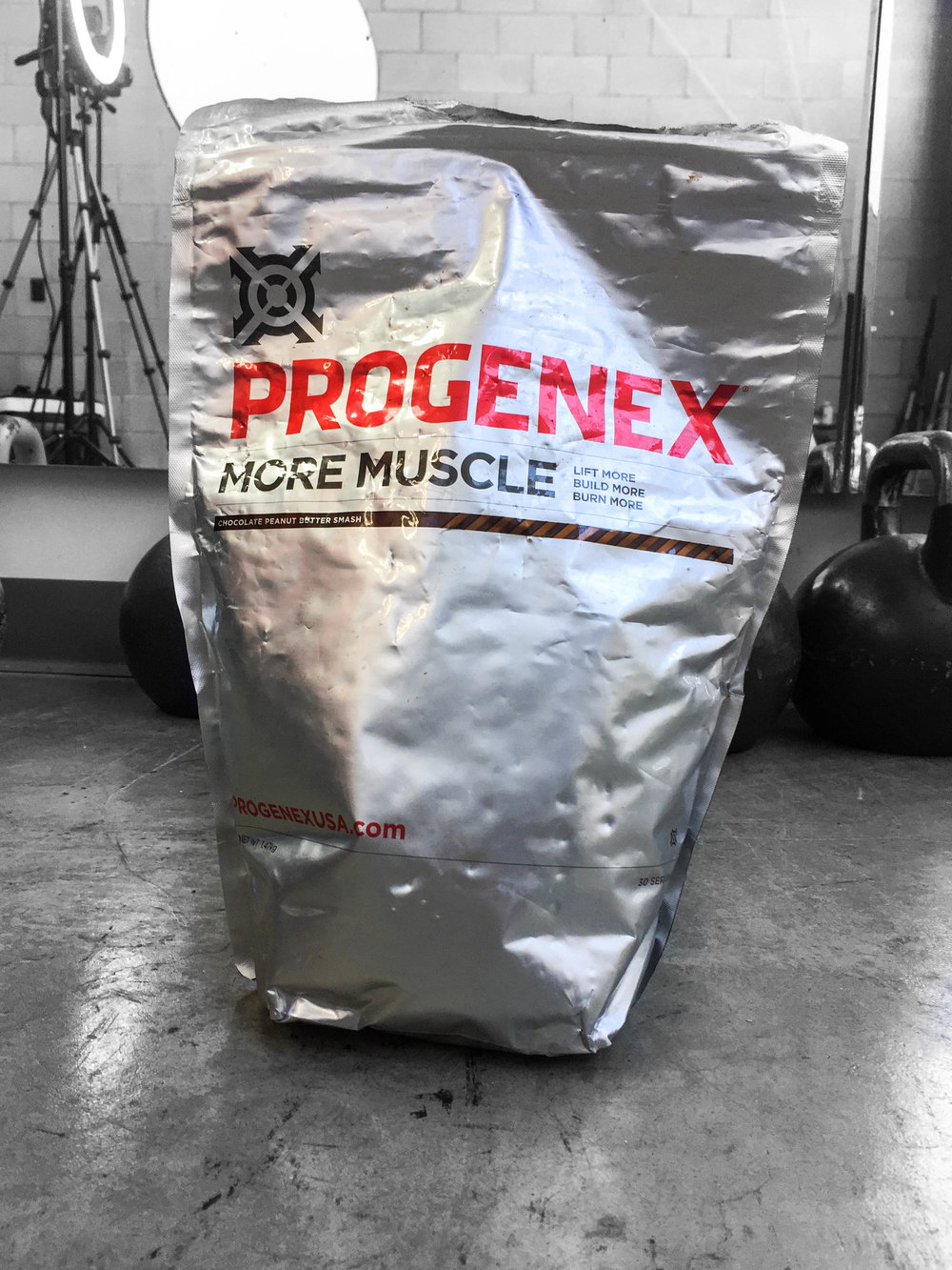 Progenex More Muscle - http://amzn.to/2moh7zf