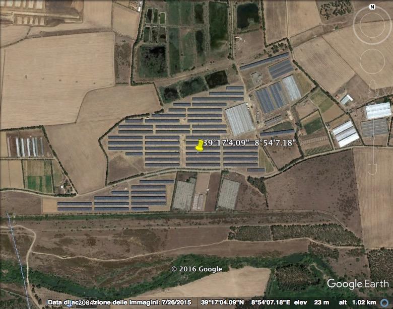 UTA - Ortofoto impianto fotovoltaico