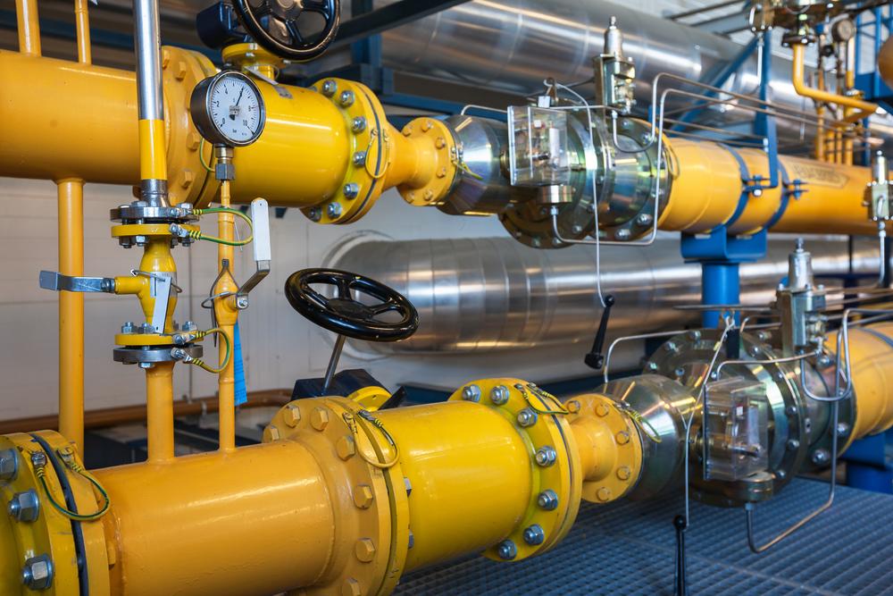 Impianto cogenerazione a gas