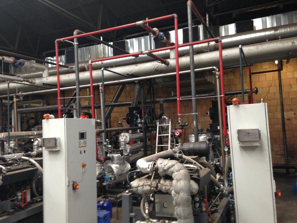 Impianto di cogenerazione a biomassa