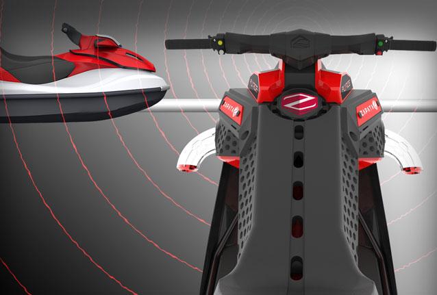 Kablosuz Kumanda Sistemi! - JetSki sürücüsü olmaksızın sadece direksiyondan kumanda etme şansınız da var.