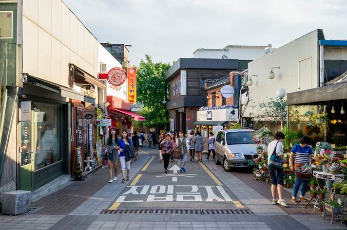 Samcheongdong.   Image source .