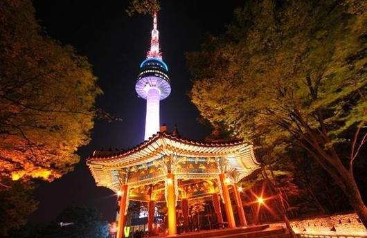 N Seoul Tower.  Image source .