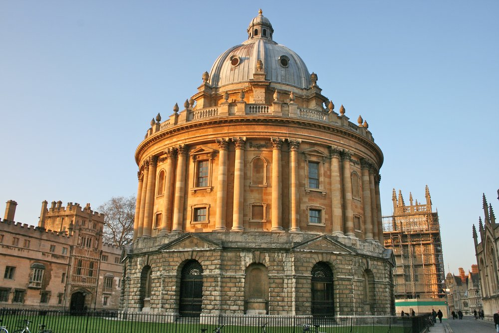 Message us if you have questions! Pictured: the Radcliffe Camera in Radcliffe Square