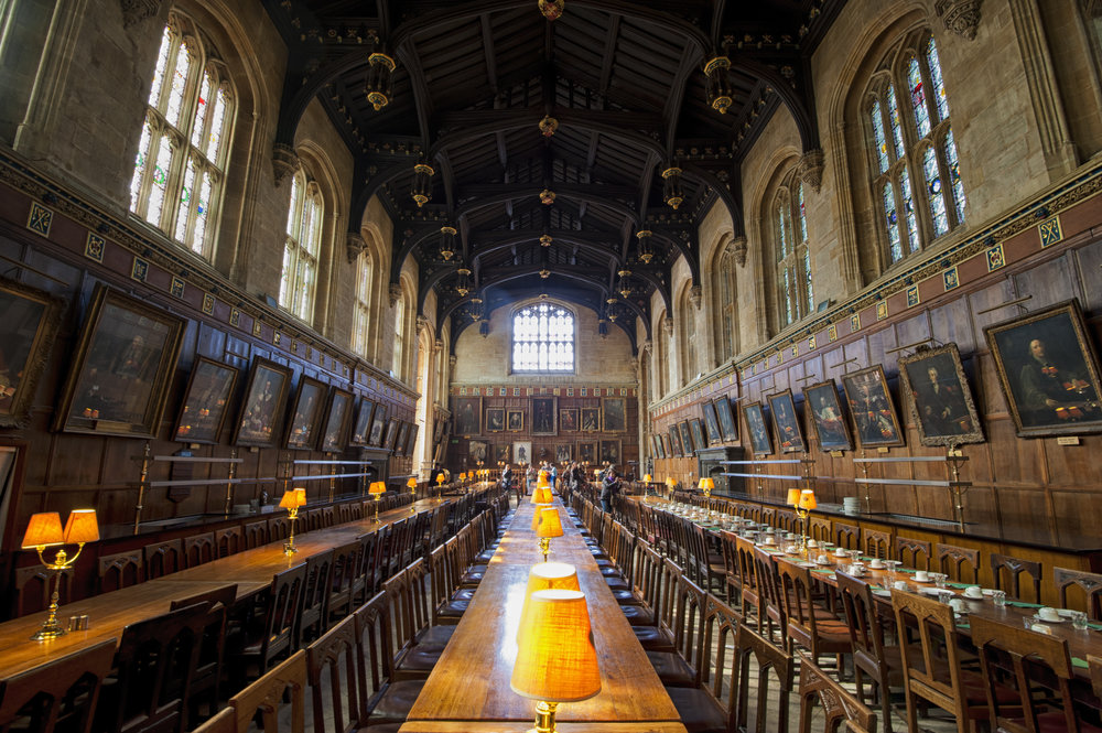 Christ Church Dining Hall - inspired Harry Potter's hall