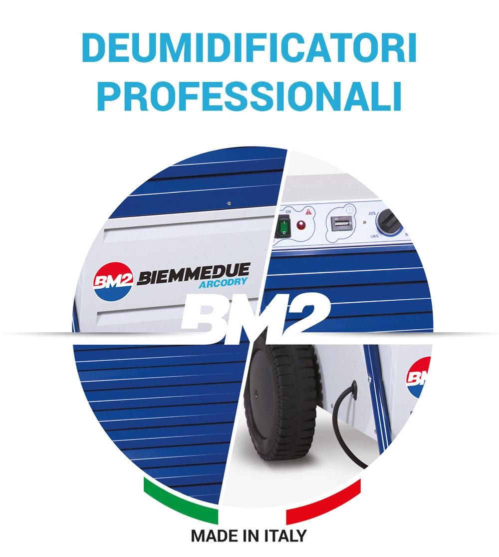 deumidificatori professionali e deumidificatori domestici biemmedue arcodry