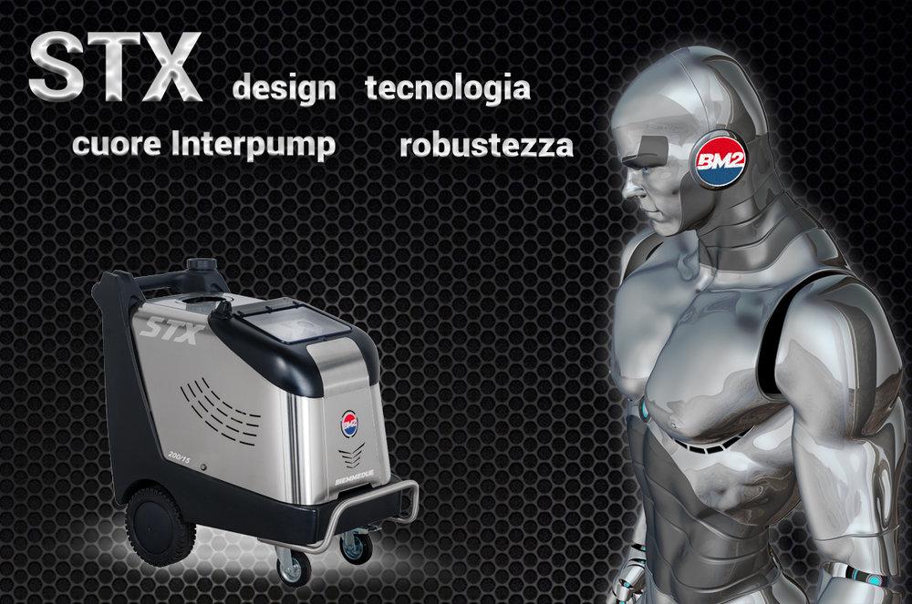 stx idropulitrice ad acqua calda design 2017 biemmedue pulizia industriale