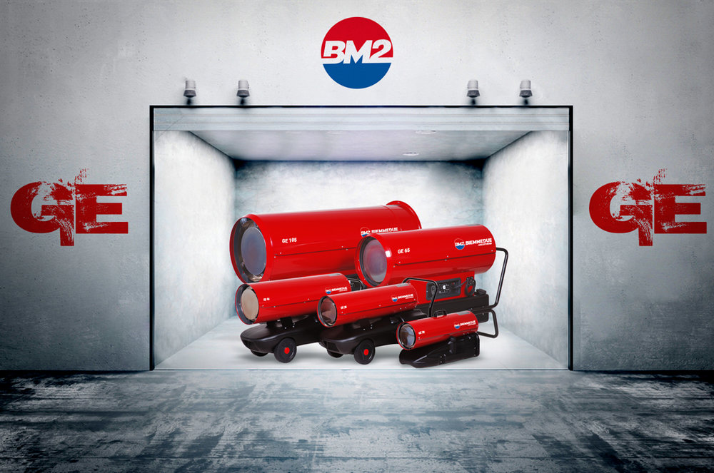 generatori d'aria calda biemmedue