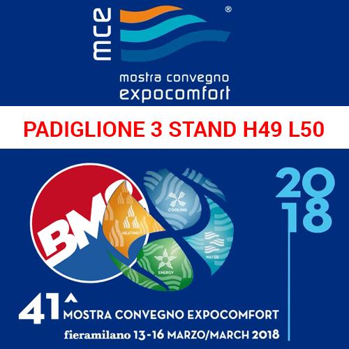 MOSTRA CONVEGNO EXPOCONFORT 2018 MILANO