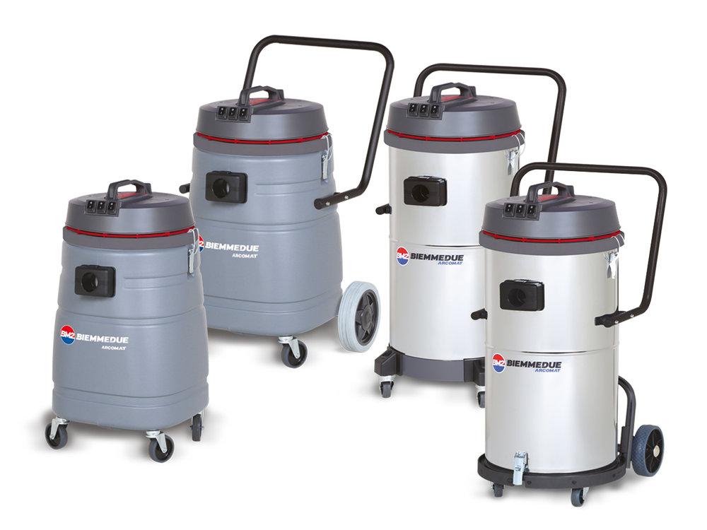 SP 70/SP 70 T & SM 70 / SM 70 B AC - COMPACT 2/3 MOTORS WET & DRY VACUUM CLEANERS