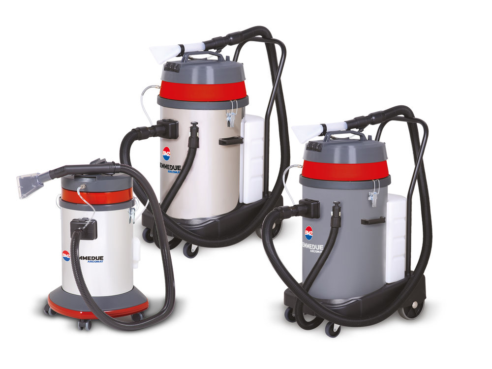EX 40/80 - WET & DRY VACUUM CLEANERS COMBINED WITH A CARPET/UPHOLSTERY CLEANING MACHINE