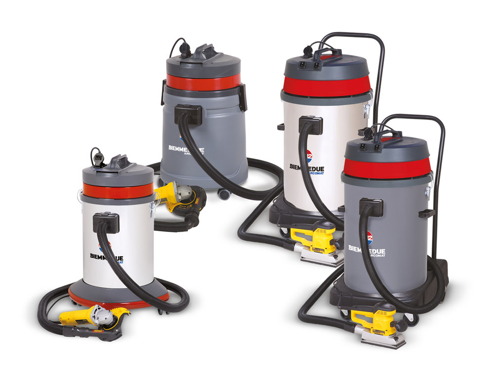 RC 40 / 45 / 80 - WET & DRY VACUUM CLEANERS DESIGNED TO BE USED WITH POWER HAND TOOLS