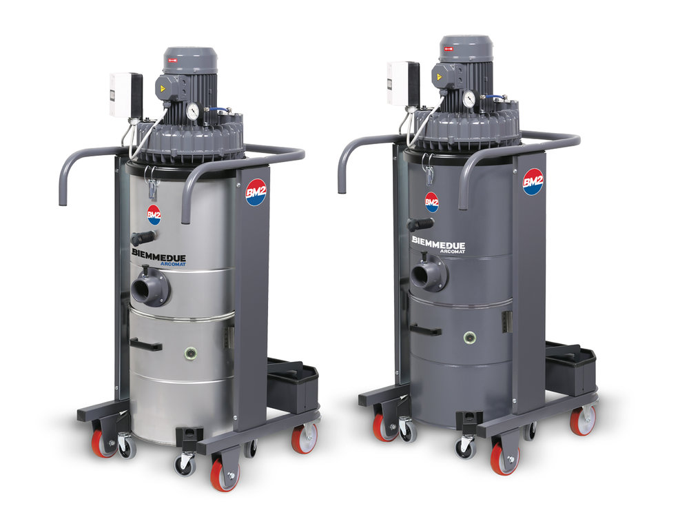 HEAVY DUTY INDUSTRIAL VACUUM CLEANERS BIEMMEDUE: TT & TTV