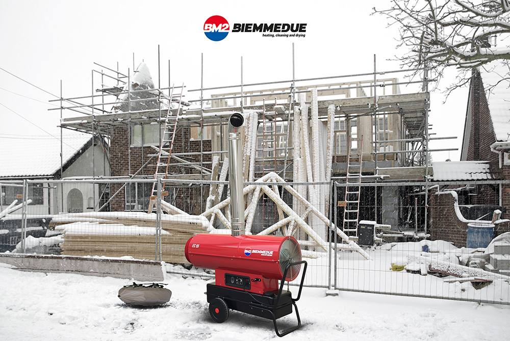 BIEMMEDUE PROFESSIONAL HEATING WITH HOT AIR GENERATORS