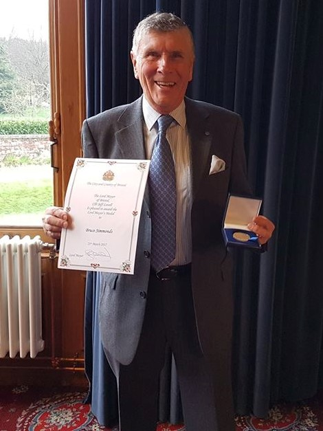 Bruce Simmonds, Appeal Chairman and Honorary Treasurer