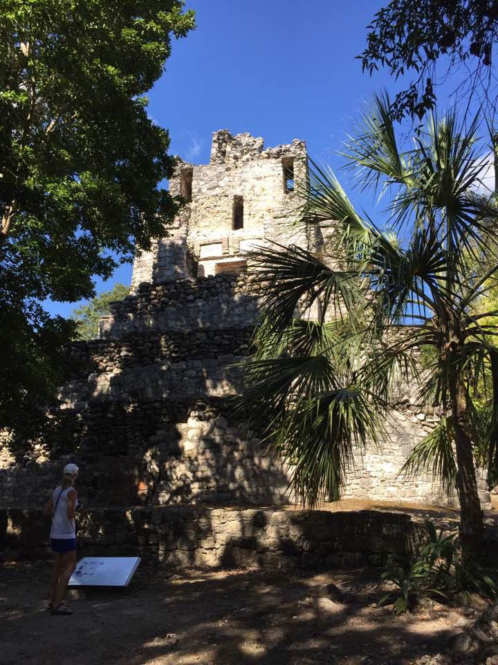 El Castillo (the Castle, as the Spaniards named it).