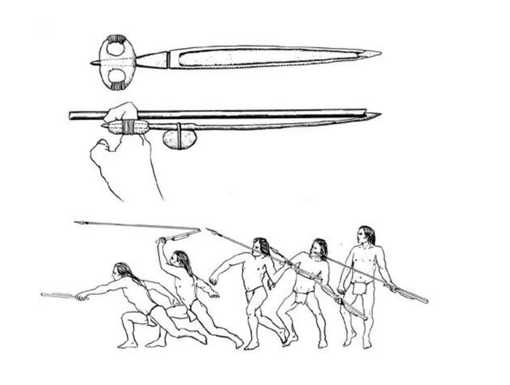The ancient art of atlatl throwing
