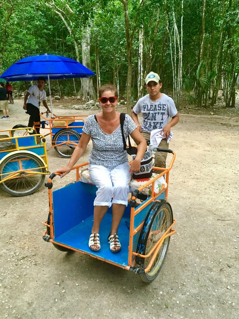 'Bici' taxi.