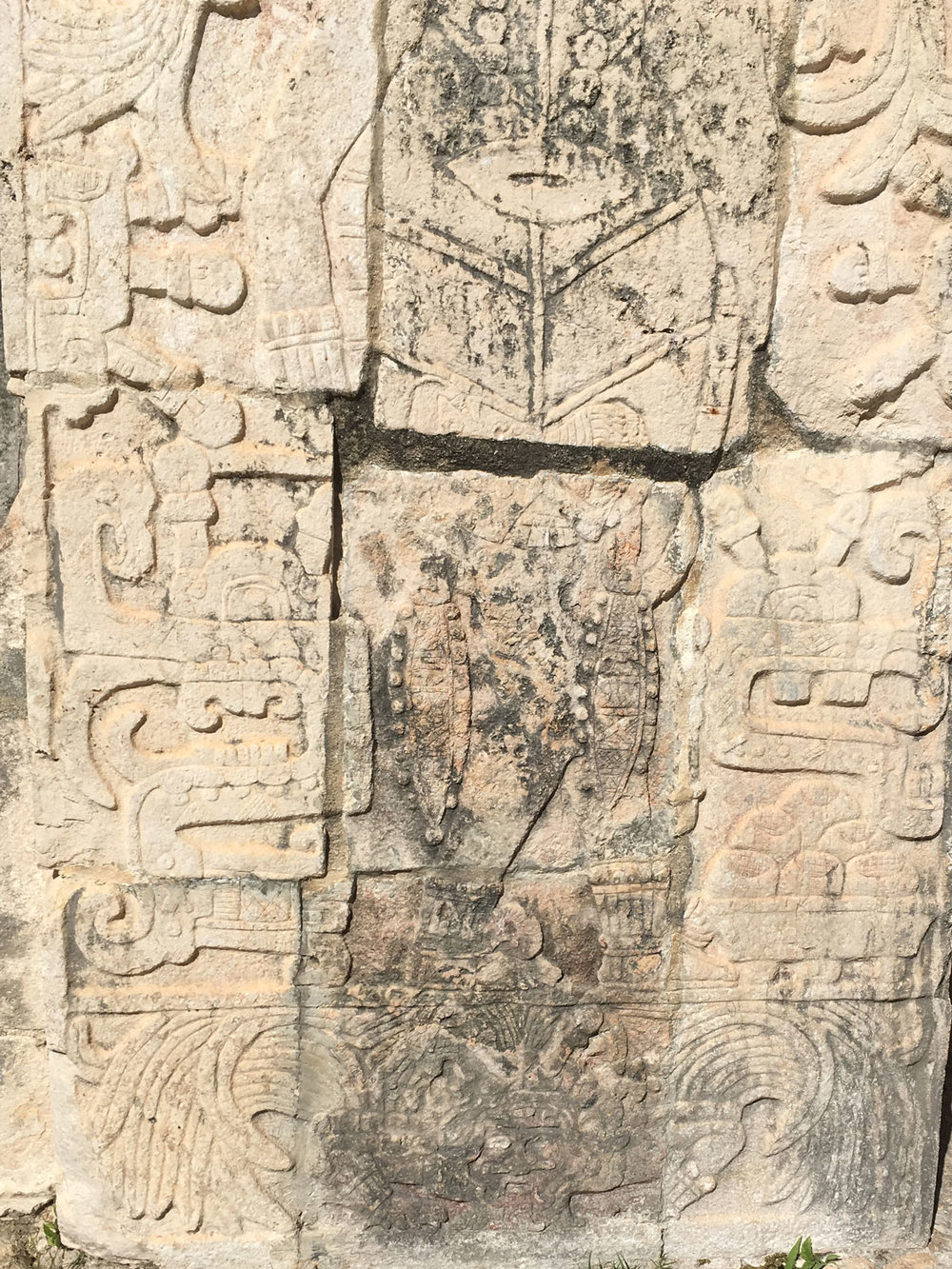 Toltec warrior  at the Temple of the Jaguar.