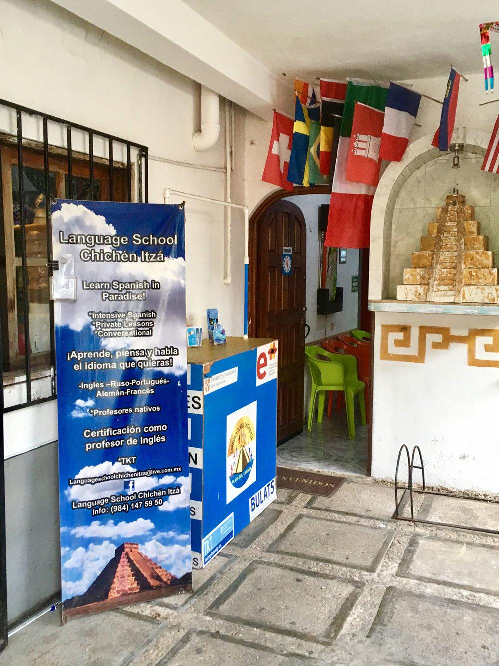 Chichén Itzá  language school