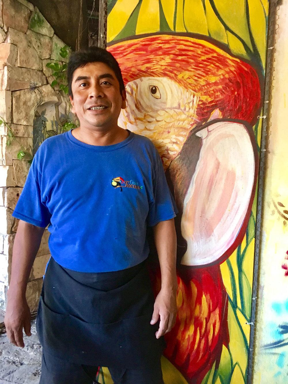 Juan, a Yucatec Maya.