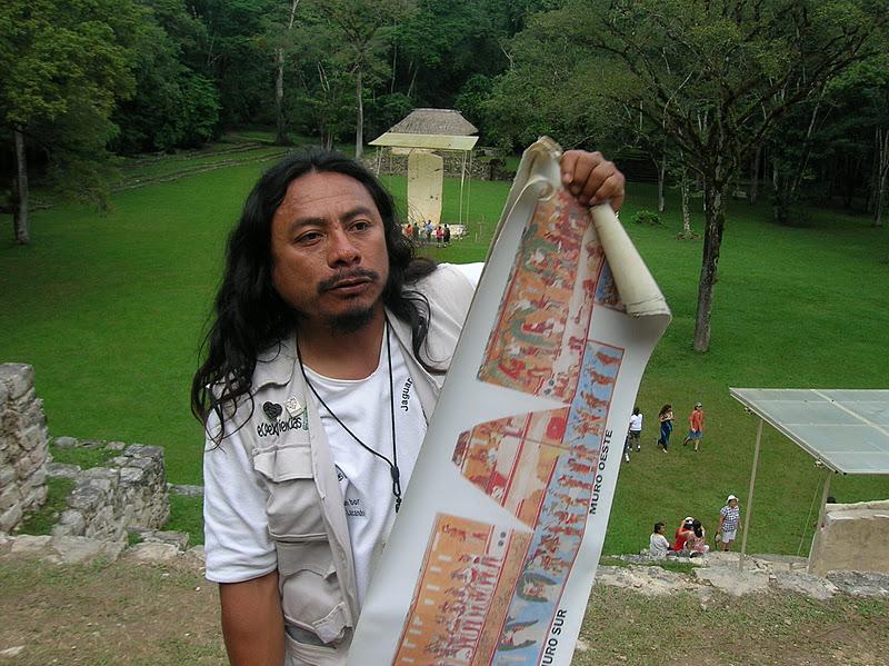 Meet Chan Bor Yuk. The Lacandón guide at Bonampak ruins.
