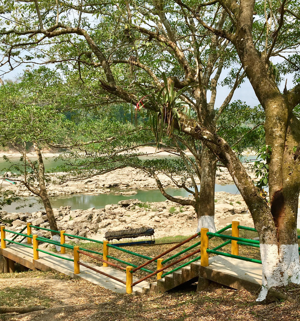 The Usumacinta river.