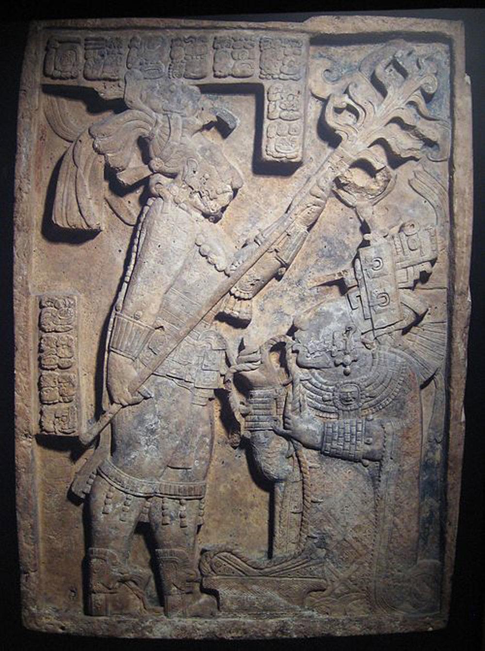 Lintel 24:Source:  latinamericanstudies.org .  Right:Lintel 25. Source:    britishmuseum.org .