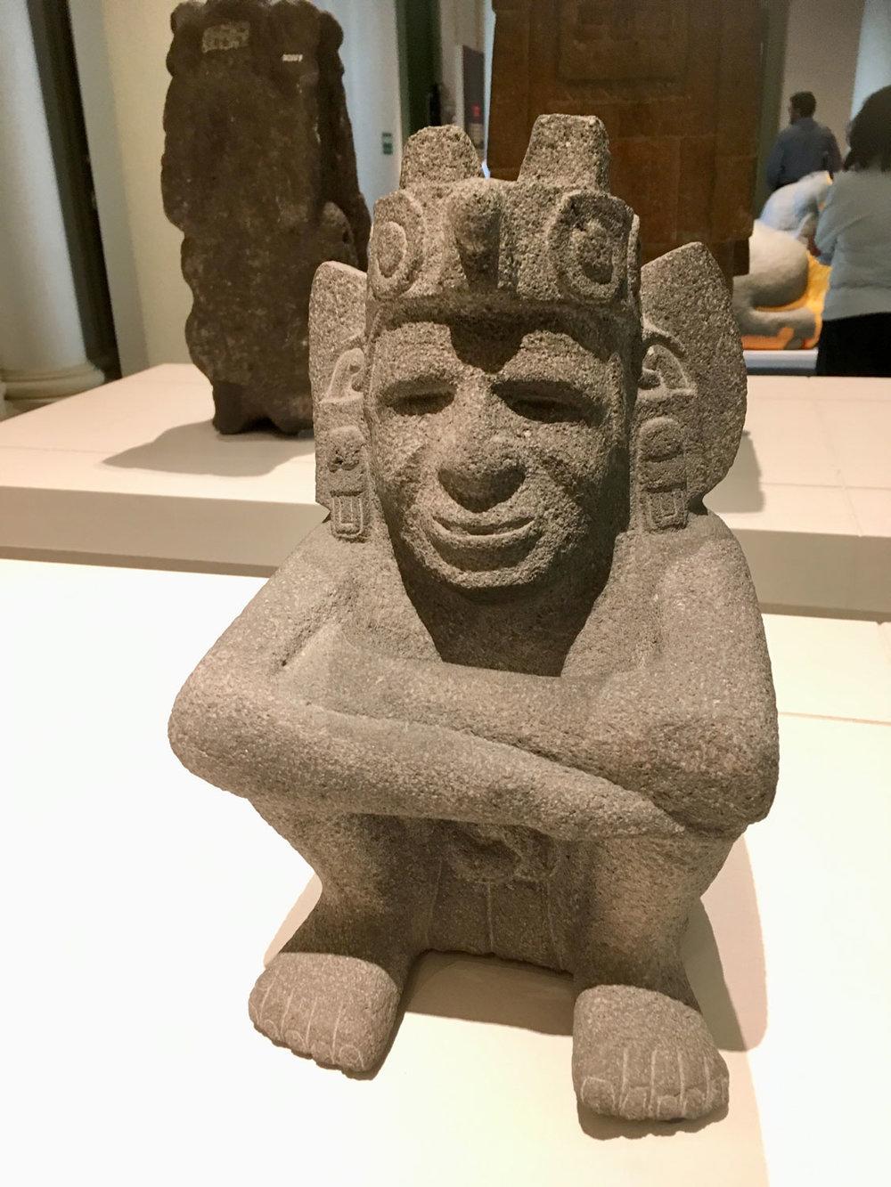 Huehuetéotl, God of Wind.