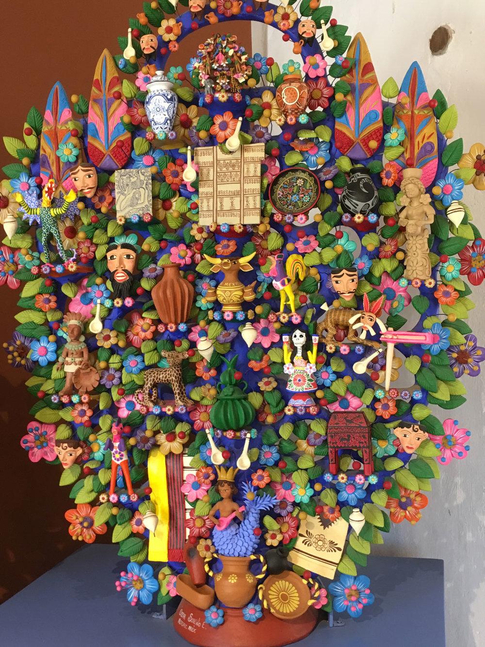 Óscar Soteno Elías: Tree of Life.
