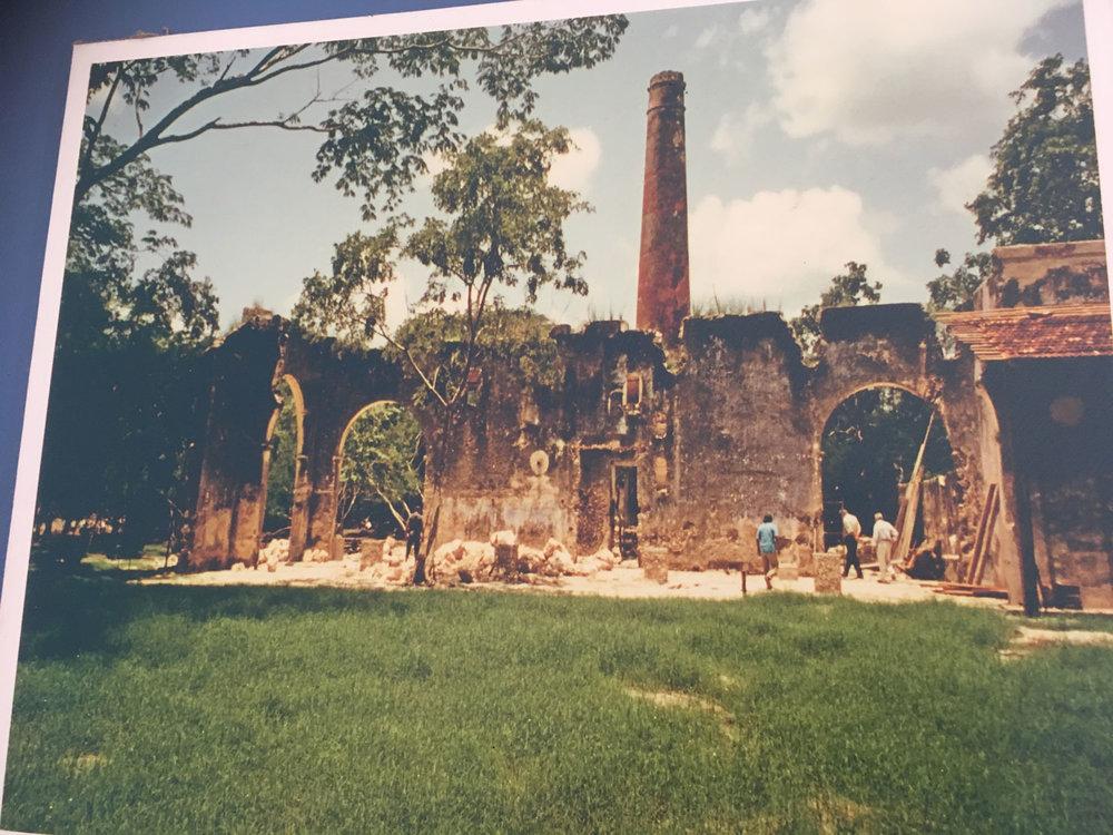 Hacienda San José Cholul.