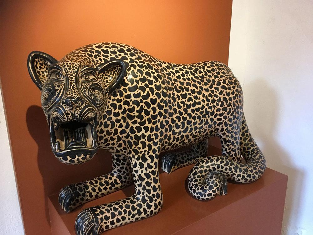 Alberto Bautista Gómez (from Chiapas): Jaguar.