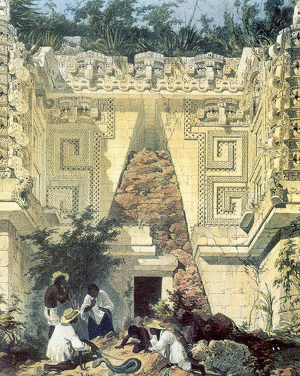 Frederick Catherwood,Governor's Palace: latinamericanstudies.org .