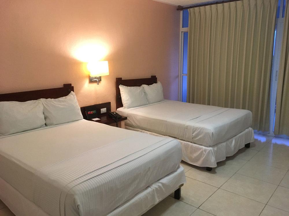 Our room in Uxmal Resort Maya hotel.